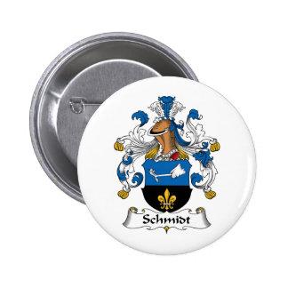 Schmidt Family Crest Buttons