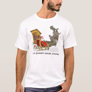 Schmidt House Funny Christmas T-Shirt