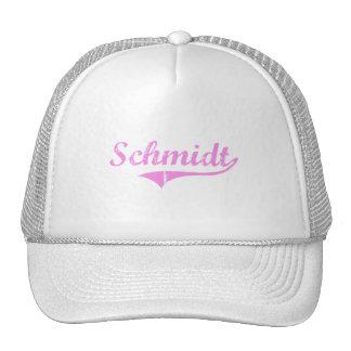 Schmidt Last Name Classic Style Hats