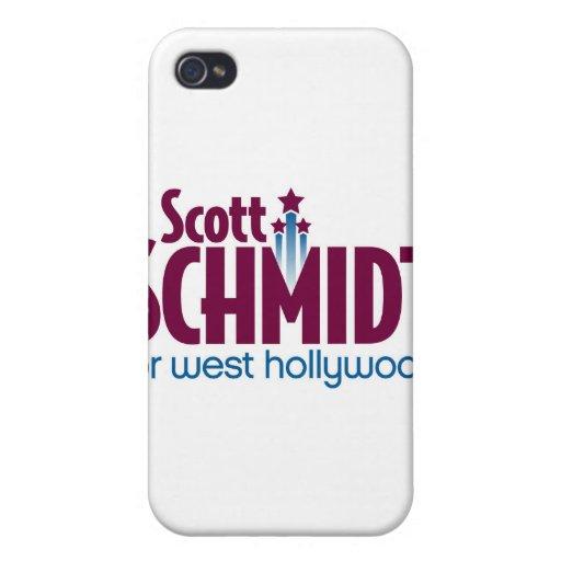 Schmidt para el caso del oeste del iPhone 4 del lo iPhone 4/4S Fundas