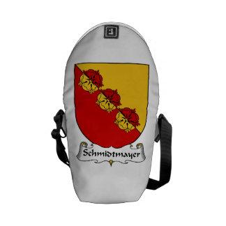 Schmidtmayer Family Crest Messenger Bags