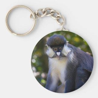Schmidt's spot-nosed Monkey Keychain