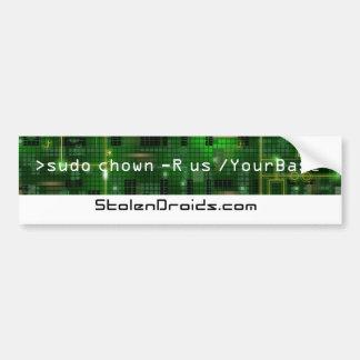 Schmidty's Linux Code Car Bumper Sticker