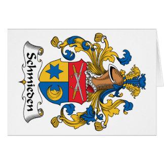 Schmieden Family Crest Greeting Card