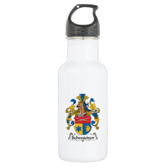 Schmieden Family Crest 18oz Water Bottle