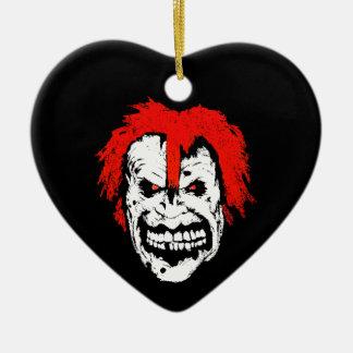 schmile. adorno de cerámica en forma de corazón
