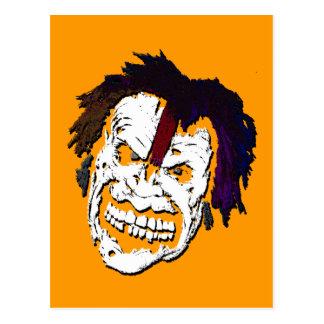 schmile! : zombie postcard
