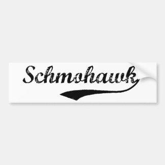 SCHMOHAWK bumper sticker Car Bumper Sticker