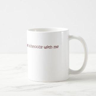 schmooze mug