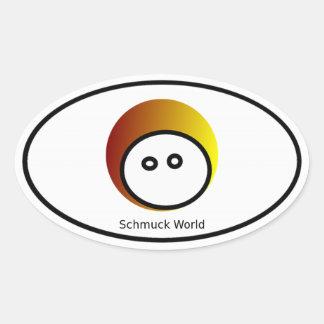 Schmuck World Euro Oval Sticker