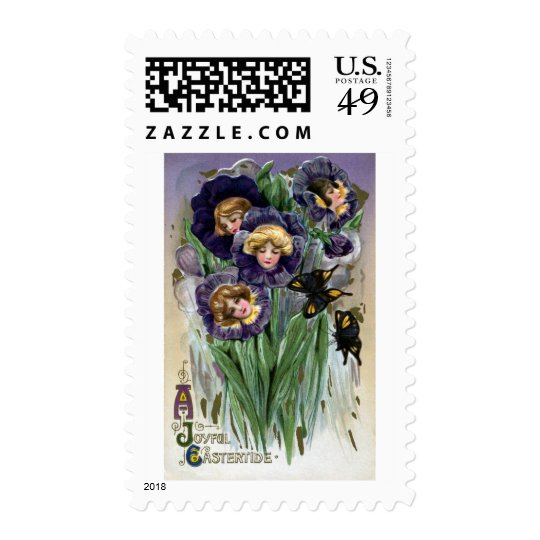 Schmucker Easter Pansy Ladies Postage