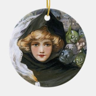 Schmucker: Goblins in the Back Ceramic Ornament