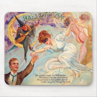 Schmucker: Golden Dance on Halloween Mouse Pad