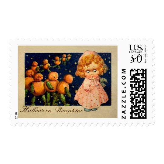 Schmucker: Halloween Pumpkins Postage