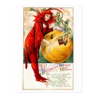 Schmucker Witch s Wand Postcard