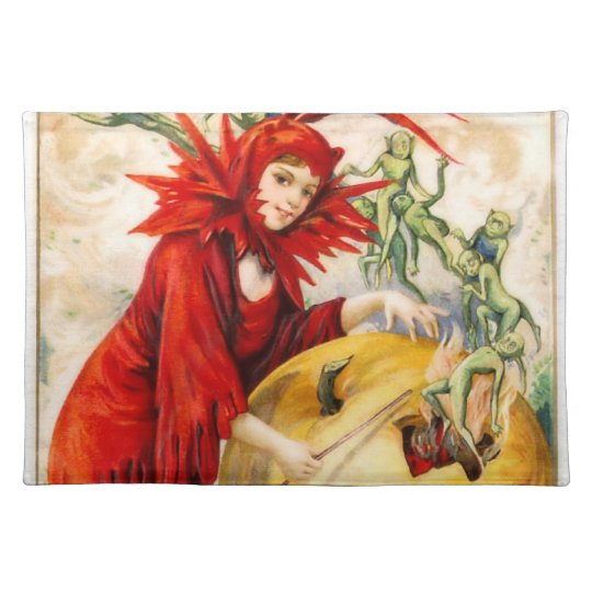 Schmucker: Witch's Wand Cloth Placemat