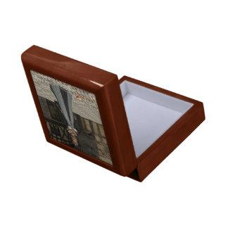 Schmuckschatulle box de adorno móvil Milady Joyero Cuadrado Pequeño