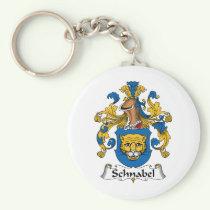 Schnabel Family Crest Keychain