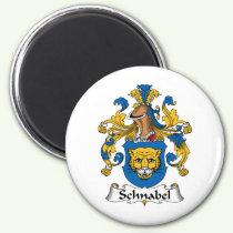 Schnabel Family Crest Magnet