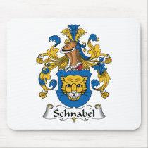 Schnabel Family Crest Mousepad