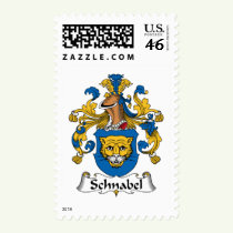 Schnabel Family Crest Stamps