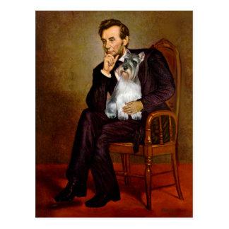 Schnauzer 11N - Lincoln Postcard