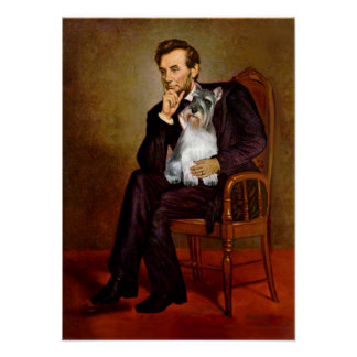 Schnauzer 11N - Lincoln Print