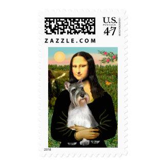 Schnauzer 11N - Mona Lisa Postage