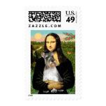 Schnauzer 11N - Mona Lisa Stamp