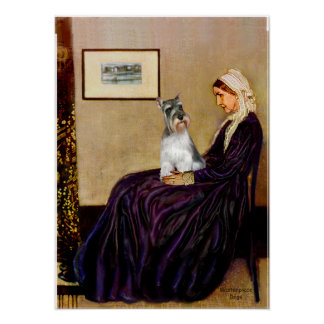 Schnauzer 11N - Whistlers Mother Print