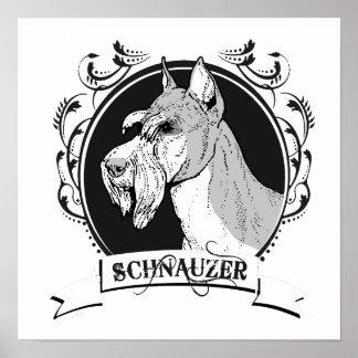 SCHNAUZER 2 POSTERS