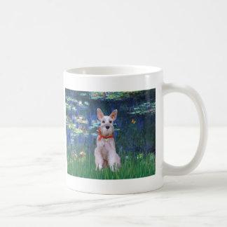 Schnauzer 9 - Lilies 5 Coffee Mug