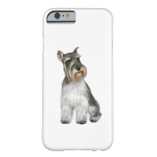 Schnauzer (A11) Funda Para iPhone 6 Barely There