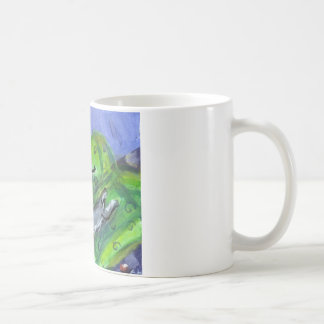 Schnauzer and Black cat sofa Coffee Mug