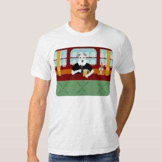 Schnauzer Beer Pub T Shirt