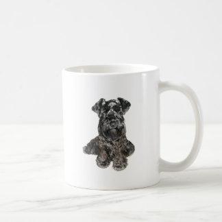 Schnauzer (black) coffee mug