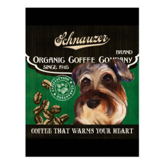 Schnauzer Brand – Organic Coffee Company Postcard