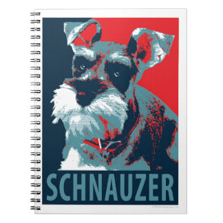 Schnauzer by Hope Dogs Notebook
