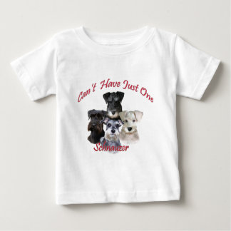 Schnauzer Can't Have Just One Apparel Baby T-Shirt