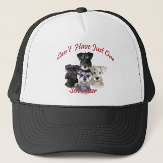 Schnauzer Can't Have Just One Apparel Trucker Hat