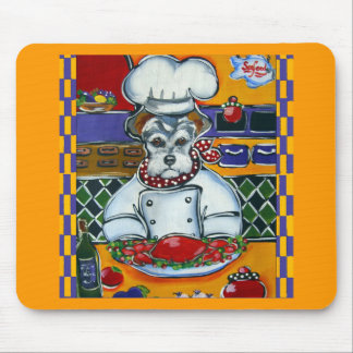 Schnauzer Chef Mouse Pad