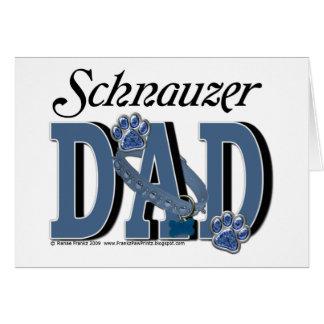 Schnauzer DAD Card