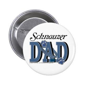 Schnauzer DAD Pin