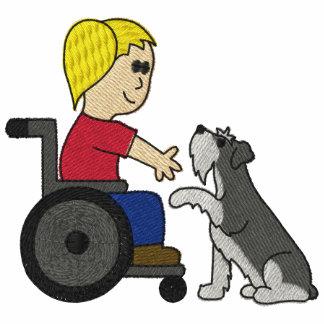 Schnauzer del perro de la terapia