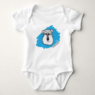 Schnauzer Dog - Baby Bodysuit