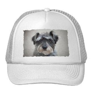 Schnauzer Dog Baseball Cap Trucker Hat
