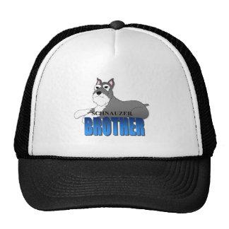Schnauzer Dog Brother Trucker Hat