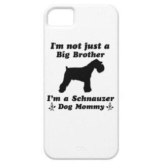 schnauzer Dog Designs iPhone 5/5S Cover