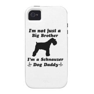 Schnauzer dog designs iPhone 4 case