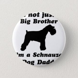 Schnauzer  dog designs pinback button